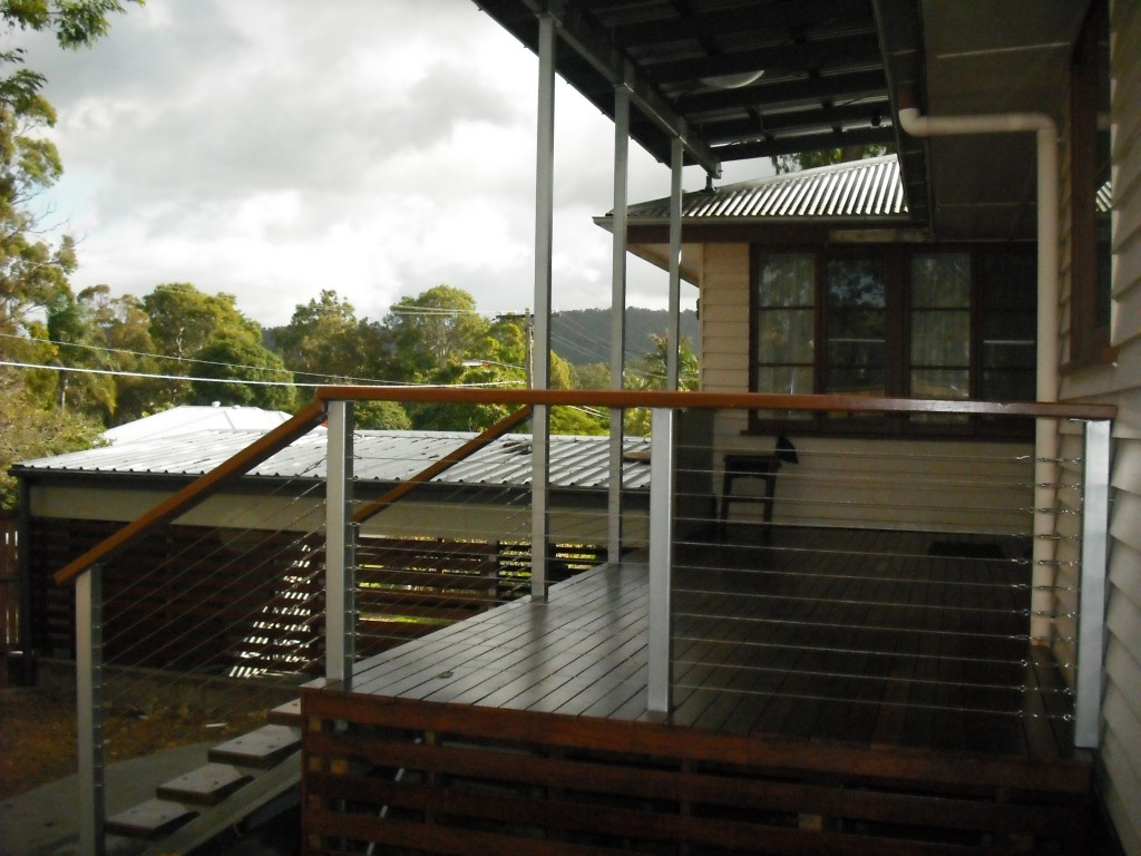 Enoggera deck/garage