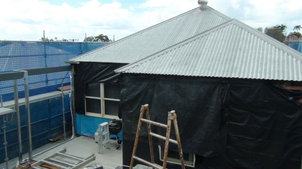 existing roof clay